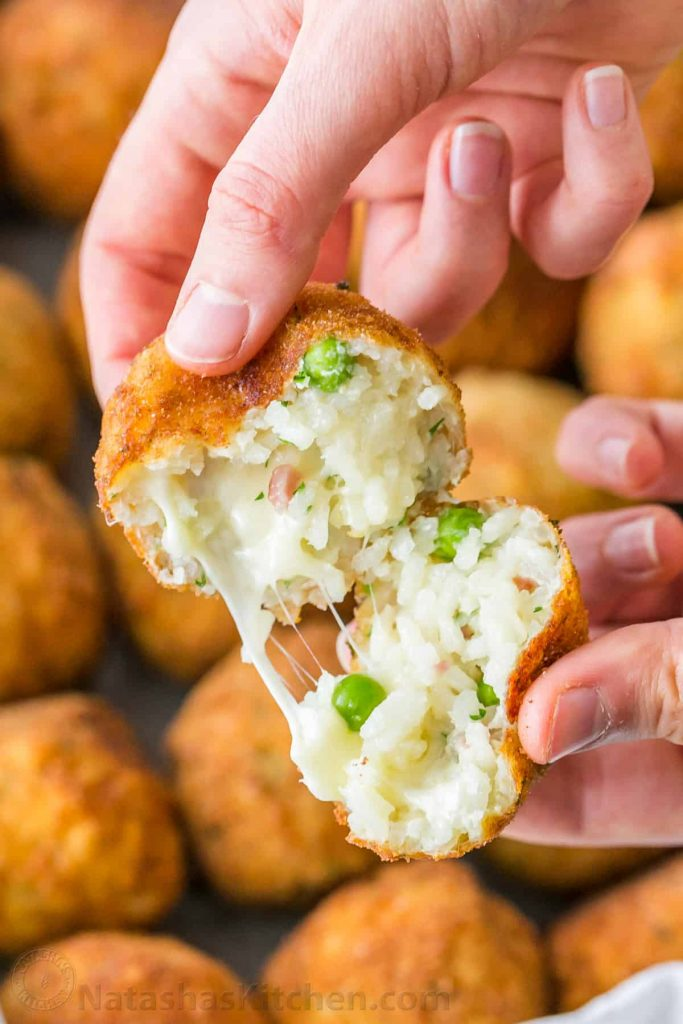 Arancini (Fried Rice Balls)