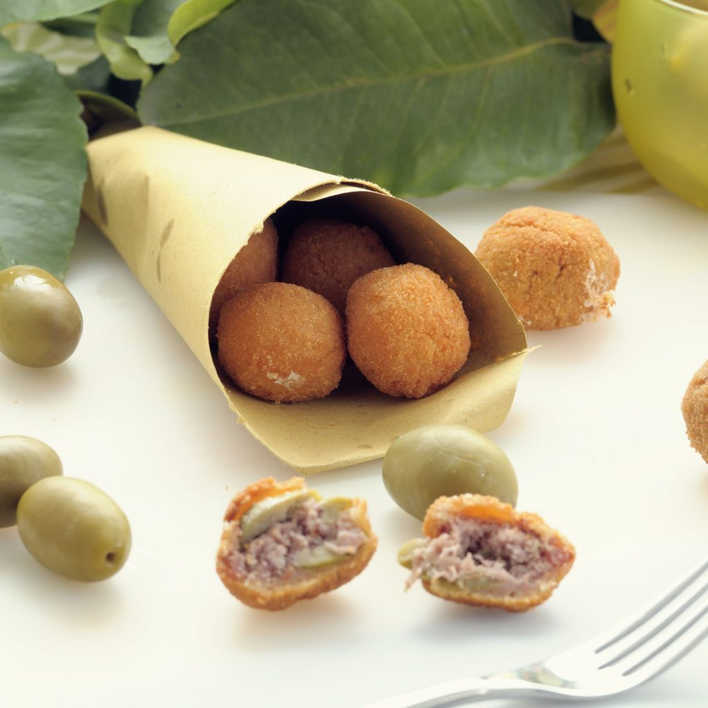 Olive Ascolana (Fried Olives)